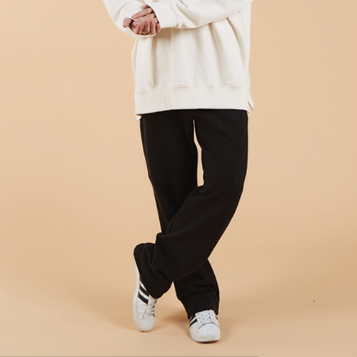 general cotton pants black