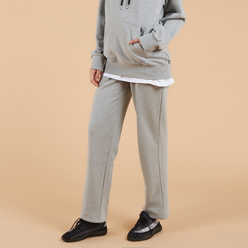 general cotton pants gray